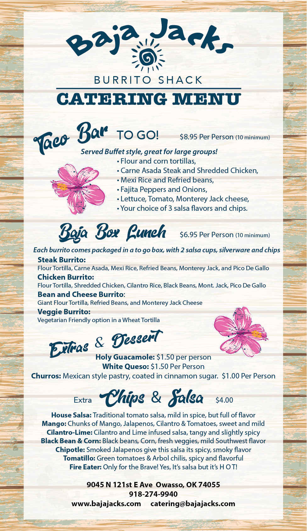 BJ Catering Front copy