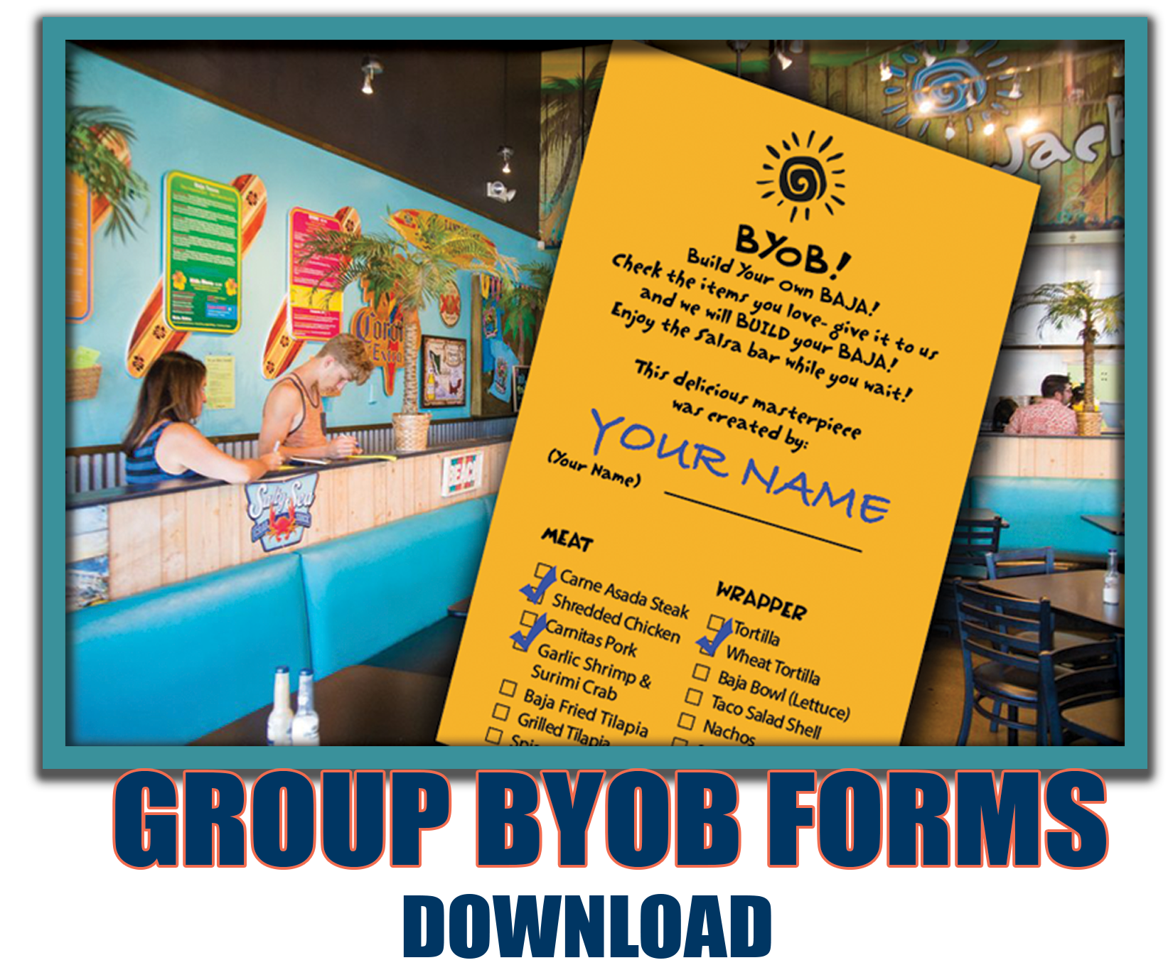 BYOB FORMS Graphic
